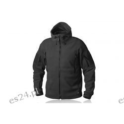 × Bluza PATRIOT - Double Fleece - Czarna Pneumatyka
