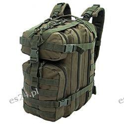Plecak wojskowy taktyczny ASSAULT BACKPACK CAMO Miliatry Gear 25L zielony Pneumatyka