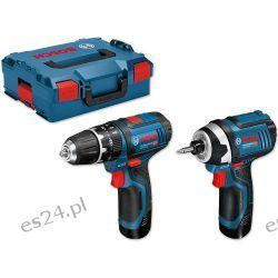 Zestaw Bosch GSB 12V-15 & GDR 12V-105 Grzejniki