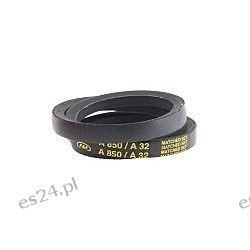 Pasek napędowy, profil A, materiał: PET, guma, 813mm x 13mm x 8mm  Materiały i akcesoria