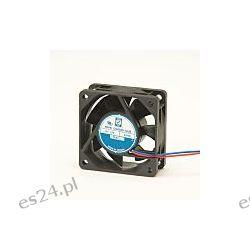 Wentylator osiowy, 12 V DC, 2.8W, 60 x 60 x 25mm, 40.8m³/h, 4500rpm, IP55