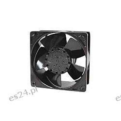 Wentylator osiowy, 230 V AC, 10W, 120 x 120 x 38mm, 178.4m³/h, 3100rpm Przemysł