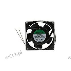 Wentylator osiowy, 220→ 240 V prądu zmiennego, 14.5W, 92 x 92 x 25mm, 51m³/h, 2350rpm Przemysł