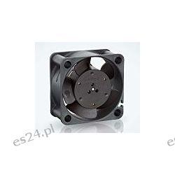 Wentylator osiowy, 24 V DC, 1W, 40 x 40 x 20mm, 10m³/h, 6000rpm, IP20, 400 Przemysł
