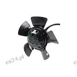 Wentylator osiowy, 230/400 V AC, 70W, 195 x 73mm, 940m³/h, 3150obr./min Przemysł