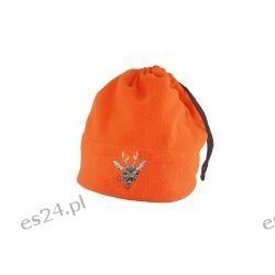 Kołnierz i czapka ostrzegawcza pomarańcz 2w1 komin kozioł Sport i Turystyka