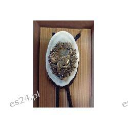 Krawatnik / Bolo plaster Głuszec z brązu Makama Sport i Turystyka