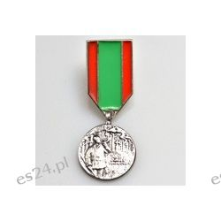 Miniatura Medalu Zasługi Łowieckiej II stopnia - Makama srebro Sport i Turystyka
