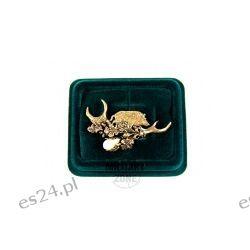 Odznaka ręcznie składana Dzik brąz, Makama Sport i Turystyka