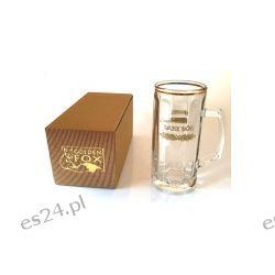 Kufel szklany Darz Bór Golden Fox Sport i Turystyka
