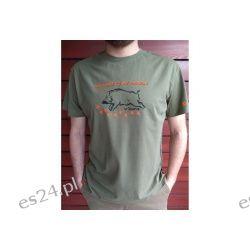 Koszulka myśliwska Dzik My Passion oliwkowa Taurus Sport i Turystyka