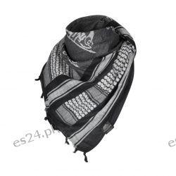 Arafatka Helikon Logo biało czarna Odzież, Obuwie, Dodatki