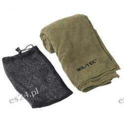 Ręcznik szybkoschnący 120x60 mikrofibra zielony Mil-Tec Turystyka