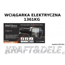 Wyciągarka - Wciągarka elektryczna KD1562 3000LBS 12V Pozostałe