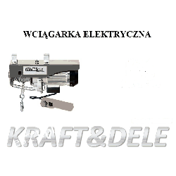 Wyciągarka Elektryczna Linowa 500kg KD1525 Pozostałe