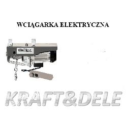 Wyciągarka Elektryczna Linowa 800kg KD1526 Pozostałe
