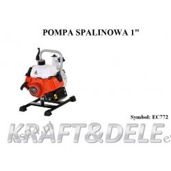 """Motopompa pompa spalinowa do wody 1"""" cal 2km EC772 Pozostałe"""