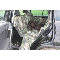 Mata samochodowa do przewożenia psa, zielona cordura Lunety