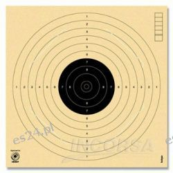 Tarcze strzeleckie pistolet PPN 10m ISSF sztuka