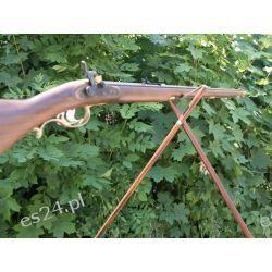 Pastorał drewniany dwójnóg myśliwski Strzelectwo