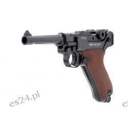 Pistolet P08 Parabellum Strzelectwo