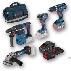 Zestaw narzędzi akumulatorowych Bosch Akumulatorowe