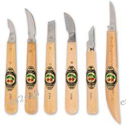 Zestaw noży rzeźbiarskich Kirschen 6 szt