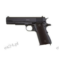 Wiatrówka pistolet Gletcher CLT 1911 Blow Back Sporty strzeleckie i myślistwo