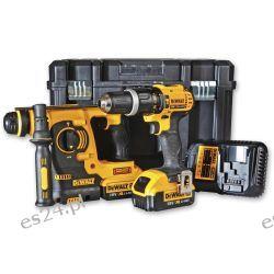 DeWALT DCK206M2 Combi & SDS+ Drill Twin Pack 18V (4.0Ah) Elektryczne