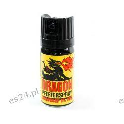 """Gaz pieprzowy Dragon """"BlackCap"""" - 40 ml Sport i Turystyka"""