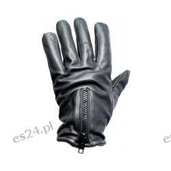 Rękawice PRODEF® Security, skóra chroniąca przed przecięciem poziomu 5, z zamkiem błyskawicznym Sport i Turystyka