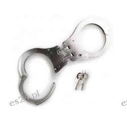 """Kajdanki dwuprzegubowe """"Police"""" - stal nierdzewna Pozostałe"""