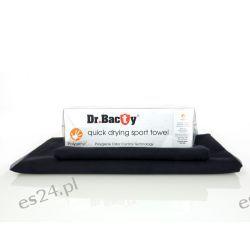 Ręcznik szybkoschnący Dr.Bacty czarny L Turystyka