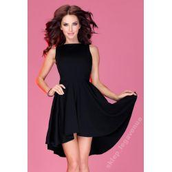 piękna ASYMETRYCZNA sukienka * 42 XL
