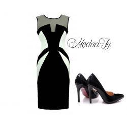 MODELUJĄCA sukienka PRINCILA ___ 44 XXL