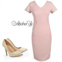 KLASYCZNA___ żakardowa sukienka   56   WESELE