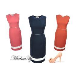 ELEGANCKA sukienka KLASYCZNA 42 XL