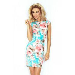 Sukienka z printem florystycznym __ 38 M