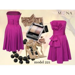 MONA efektowna sukienka GORSETOWA kolory __34 XS