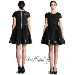 MONA sukienka rozkloszowana PRODUKT POLSKI __34 XS