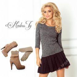 MODNA sukienka sweterek plisowanka ___ 38 M