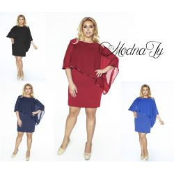 ELEGANCKA sukienka wizytowa WESELE__48  kolory