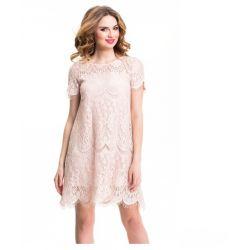 WESELE Zwiewna koronkowa sukienka __ 42 XL