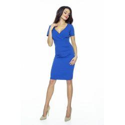 KLASYCZNA prosta sukienka  z dekoltem __ 40 L