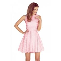 NUM 125-18 Sukienka koło żakard WESELE__38 M