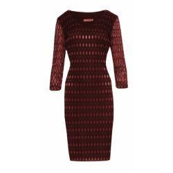 WESELE połyskująca sukienka koronkowa 48