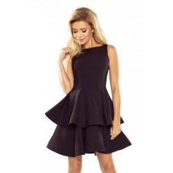 NUM 169-3 Sukienka z falbanami WESELE 42 XL