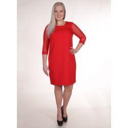 WESELE Sukienka z tiulowymi rękawkami 38 M