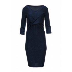 SPEC Granatowa sukienka brokatowa SYLWESTER  48