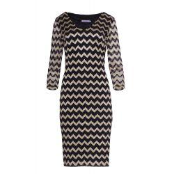 WESELE sukienka z połyskującej koronki KOLORY  44